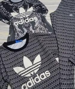🚦3pc Adidas Originals Set🚦Leggings/Shirt/Crop